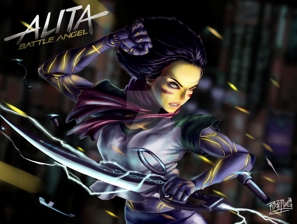 Alita: Battle Angel by artfreakguy