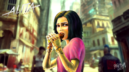 Alita: Battle Angel (Chocolate)
