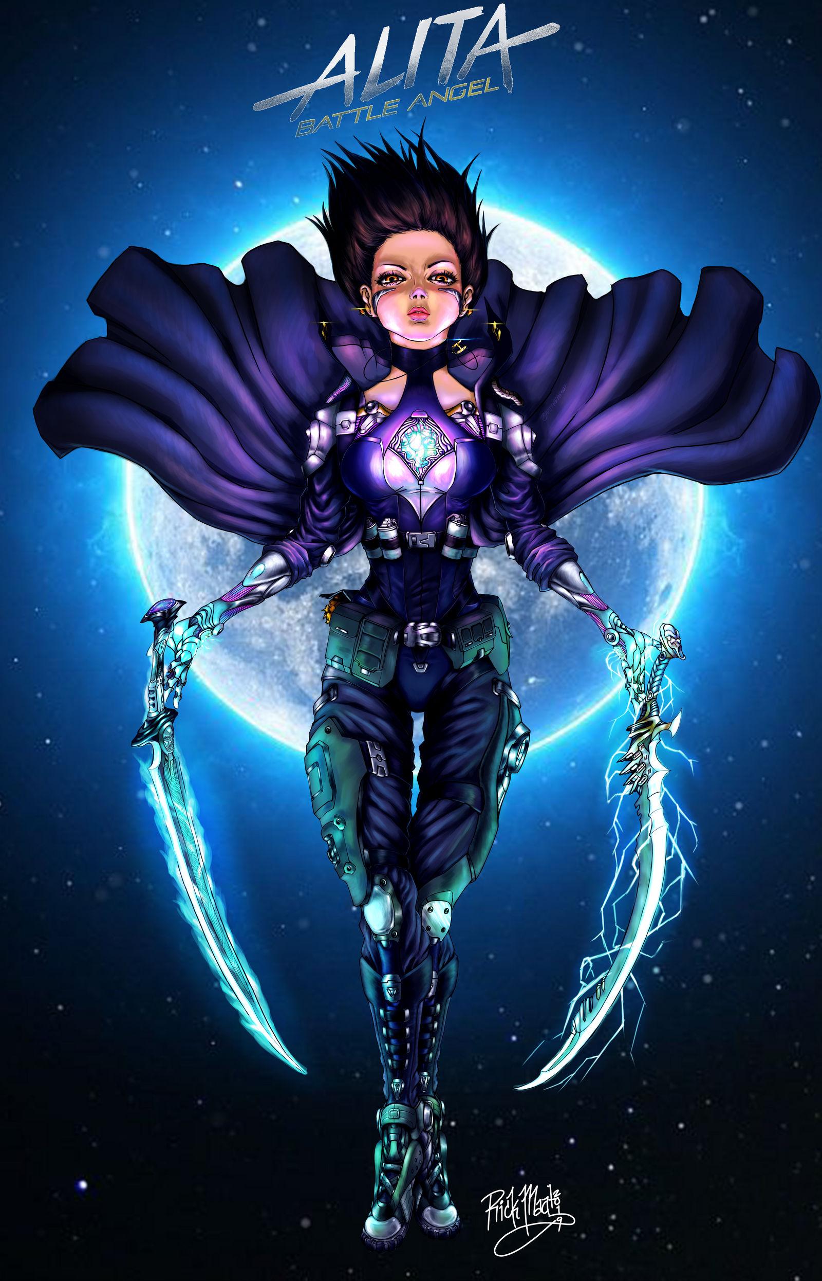 Alita Battle Angel Fallen Angel By Artfreakguy On Deviantart