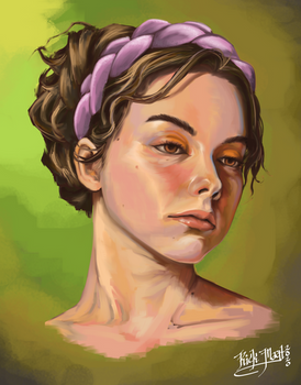 Alli - Portrait Study