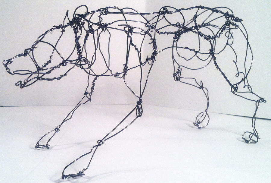 Wire Wolf 1 by HelenKG on DeviantArt