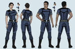 Ashley and Kaidan Alliance Uniform Design
