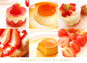 Dessert Icons by phelppa