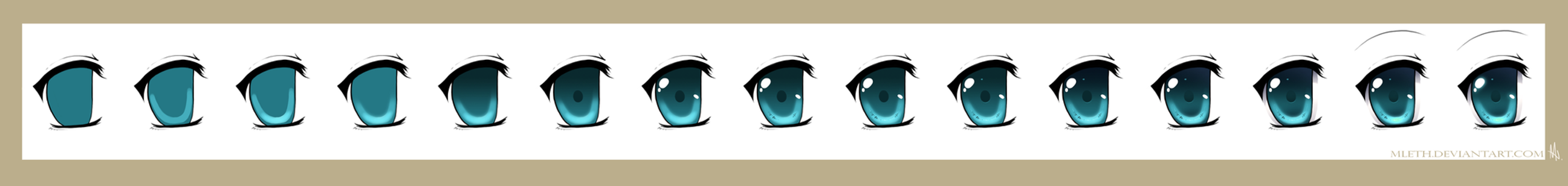 An Eye Step by Step (2010) by MLeth