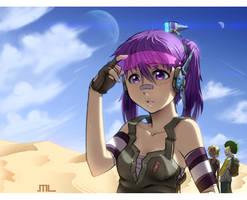 DP Saga - Solaris Inculto by MLeth