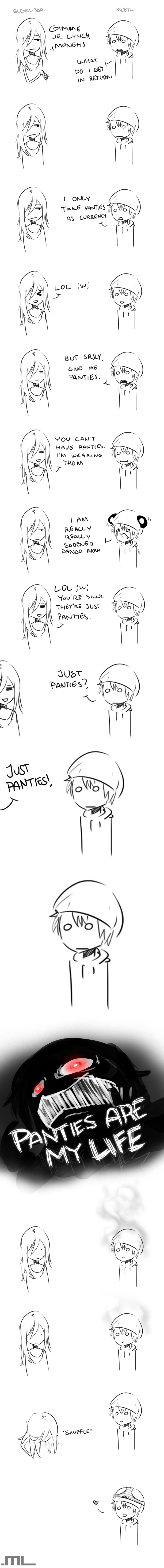 Just Panties by MLeth