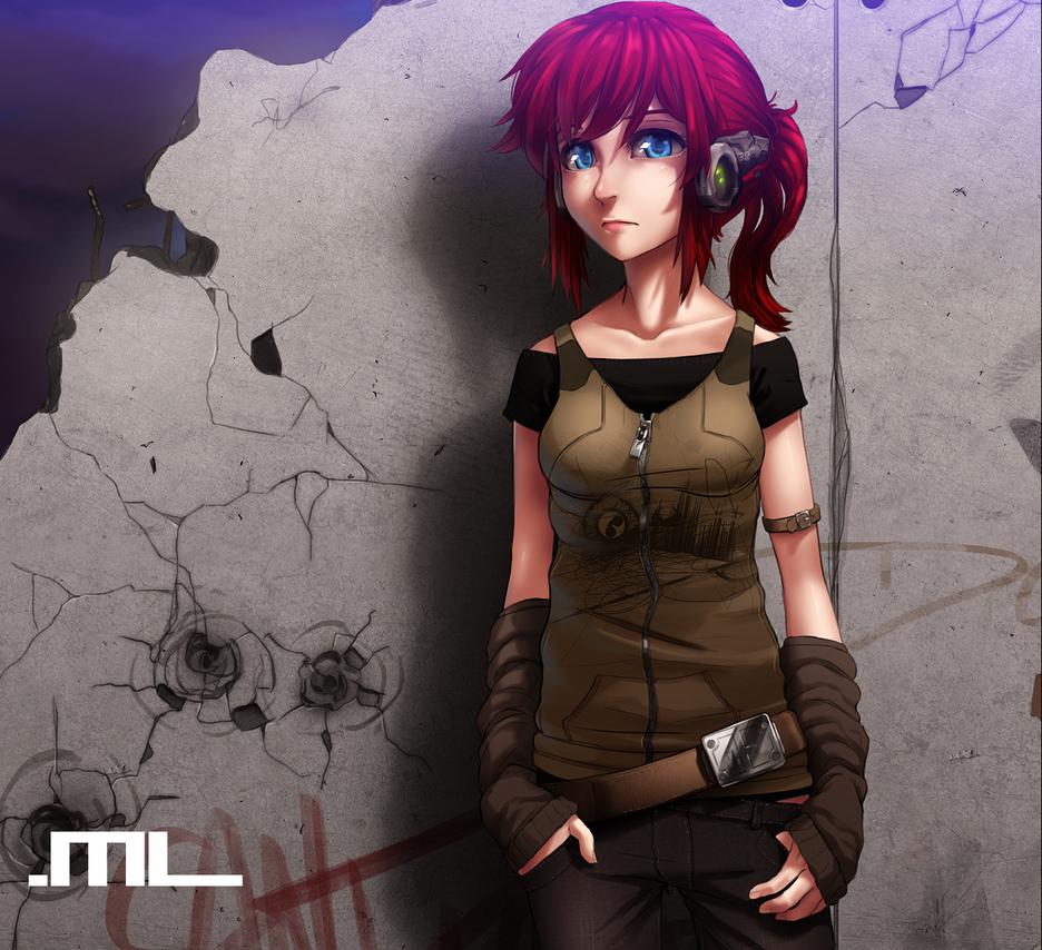 DF Saga - The Wall - YUNIE by MLeth