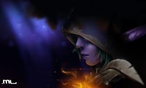World of Warcraft - Night Elf by MLeth