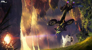 Dark Planet Saga - Hanging Cliffs Recon