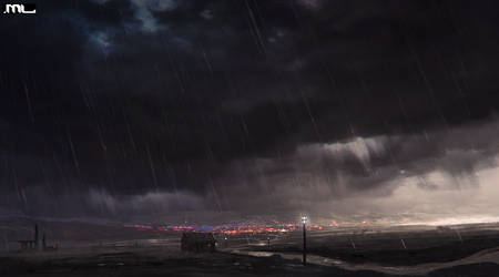 Rainy day by MLeth