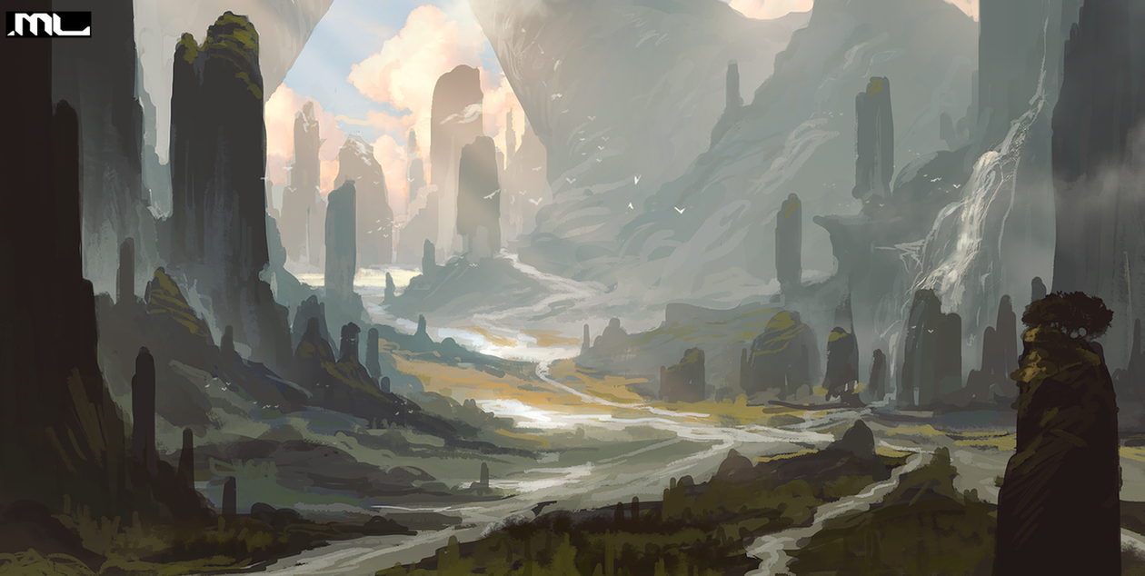 Heaven's Valley by MLeth