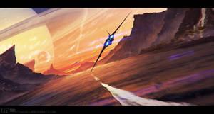 Dark Planet Saga - Chase by MLeth