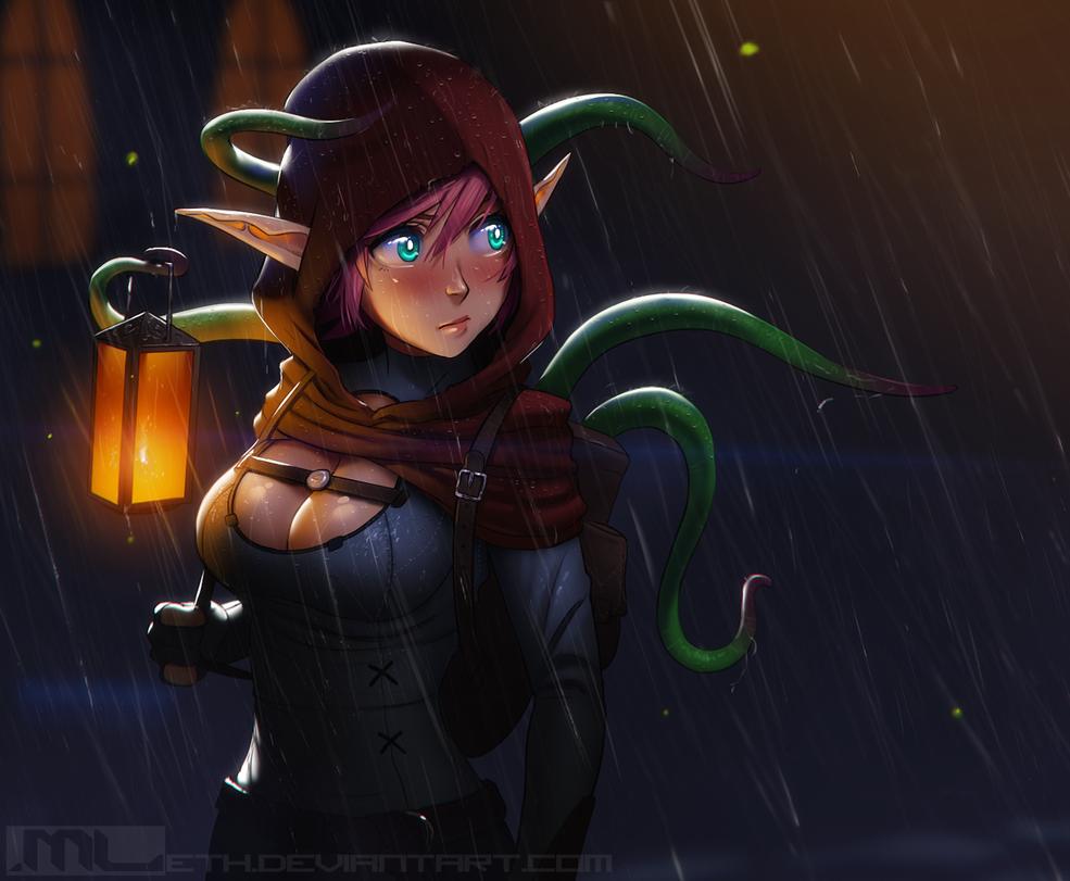 Saelihn, the Alchemist by MLeth
