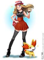 Pokemon - Serena by MLeth