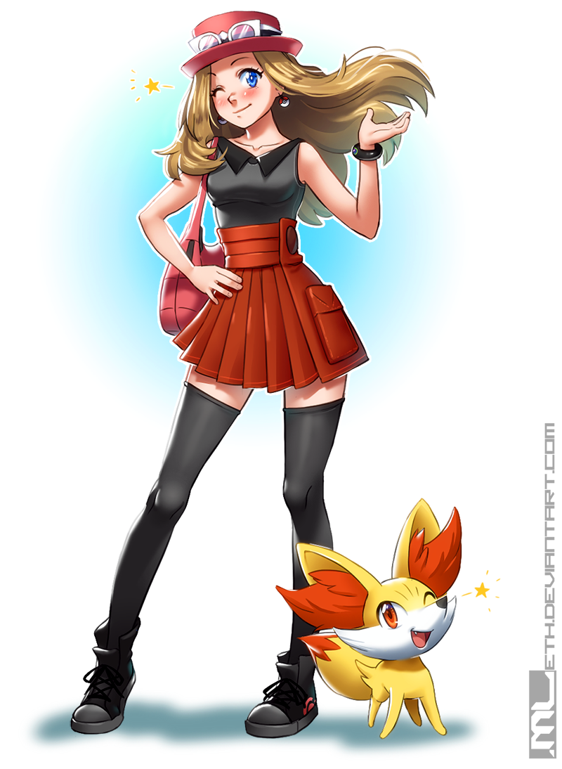 Pokemon - Serena by ML...