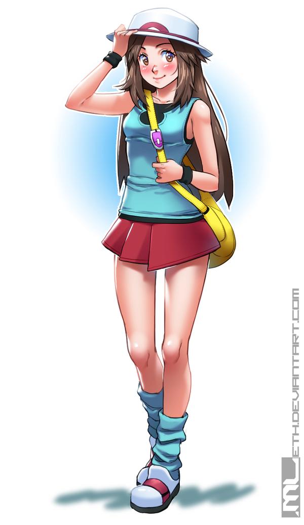 Pokemon - Leaf by MLeth