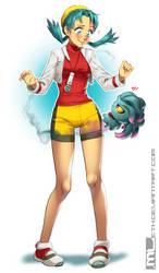 Pokemon - Kris by MLeth