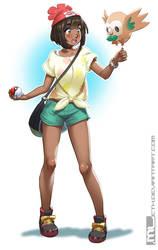 Pokemon - Sun and Moon trainer