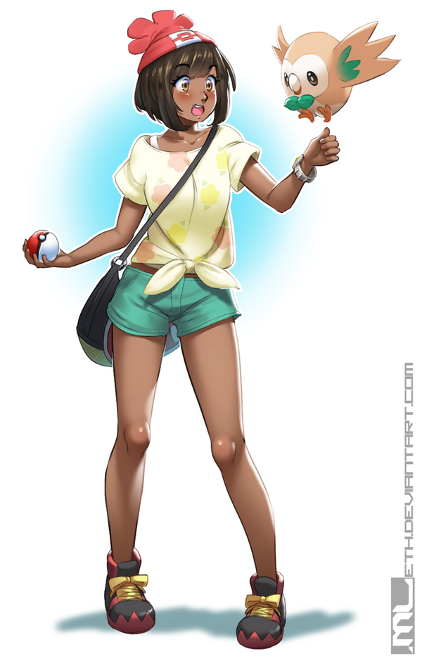 trainer and moon cosplay sun Pokemon
