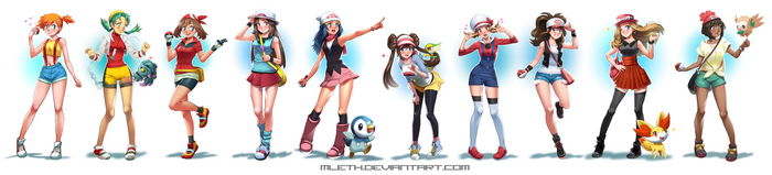 Pokemon Girl Power by MLeth