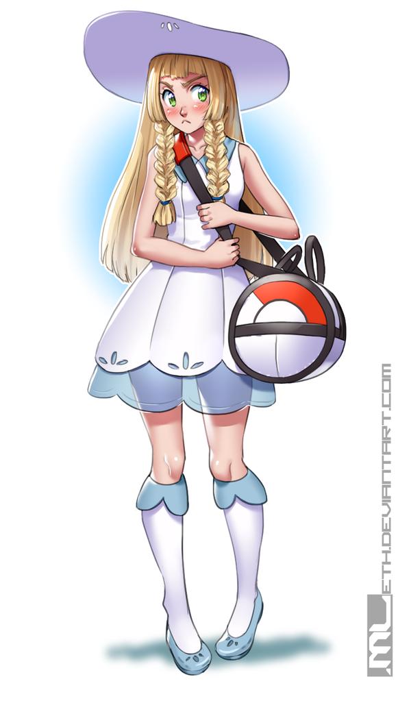 Pokemon - Lillie by MLeth