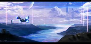 Dark Planet Saga - Inbound by MLeth
