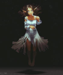 Commission - Spooky Lantea Ghost