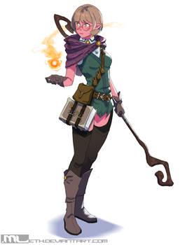 Beth Reynard the Wizard