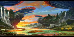 Destiny Falls by MLeth