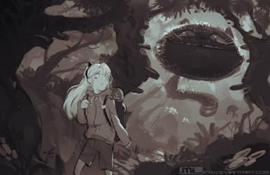 Alice in Wonderland by MLeth