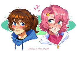 Brooke n Kirby-chan