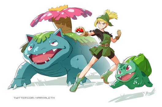 Pokemon - Gardener Gym Leader