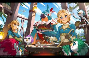 Zelda: Breath of the Wild - Rito Village