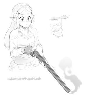 Zelda double barrelled love