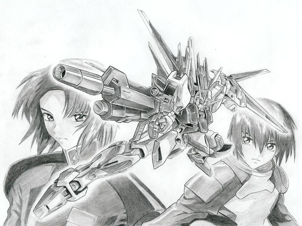 Gundam_Seed_by_MLeth