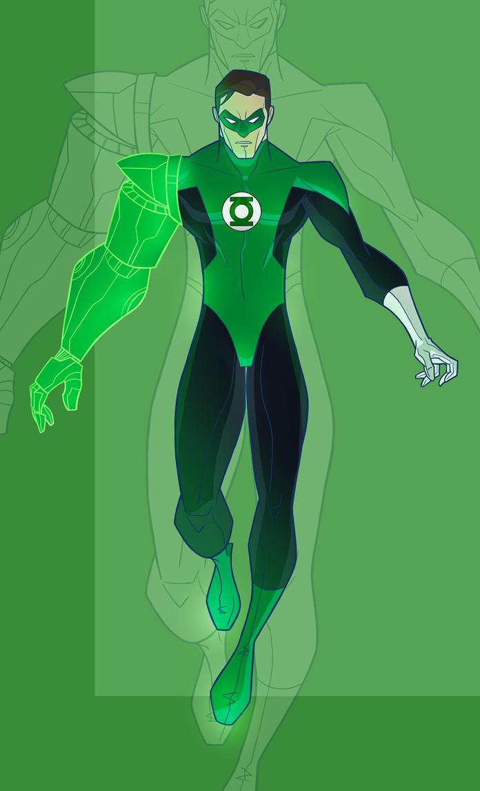 Gree Lantern: Hal Jordon by Drawaholic1124