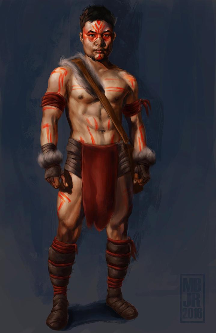 Teem the Jungle Boy by Drawaholic1124