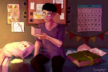 Harry Potter's Birthday by sunnydayin