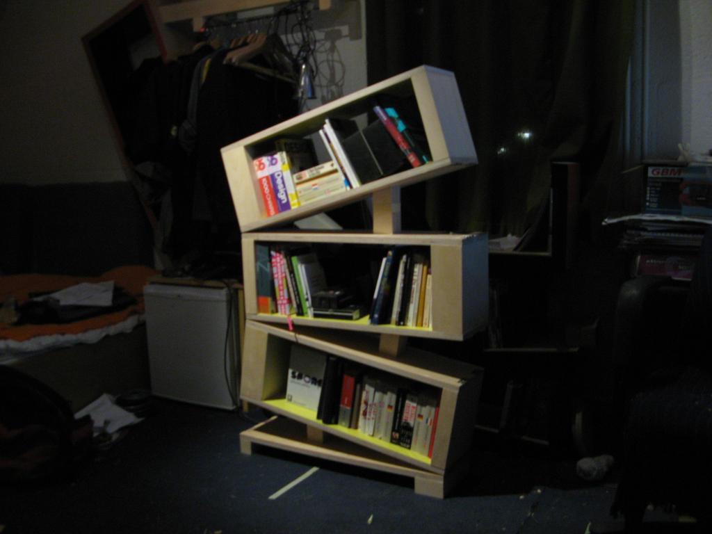 scheef stackable shelves by Heersch