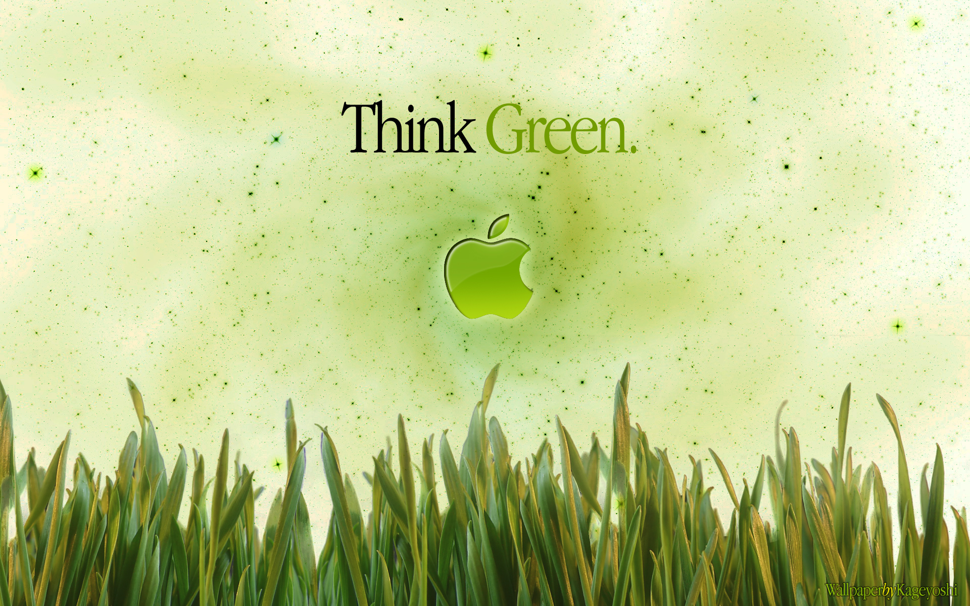 Background Green Apple