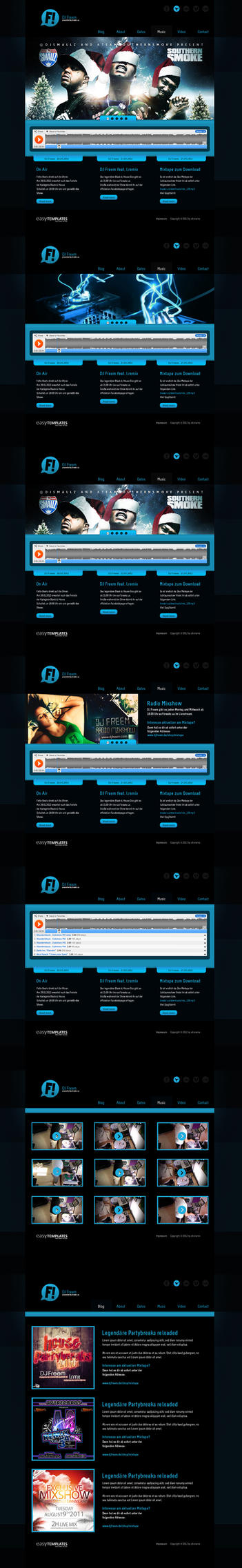 DJ Template by AlexanderFriedl