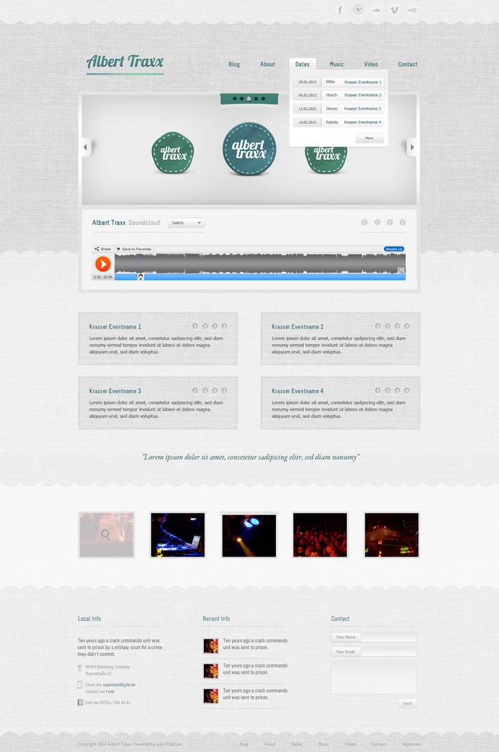 Bright DJ Template by AlexanderFriedl