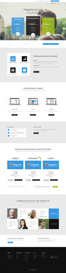 Magento for rent