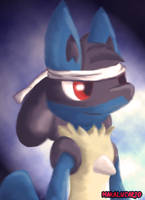 ...Lucario... by HintoMikto