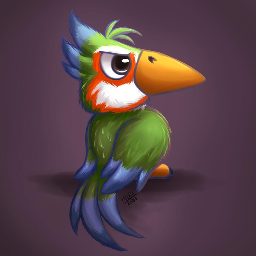 Bird by GralMaka