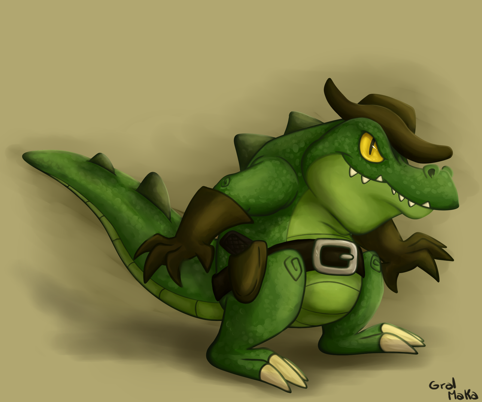 Croco by GralMaka