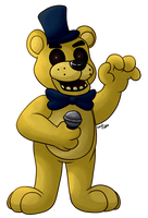 Golden Freddy by HintoMikto