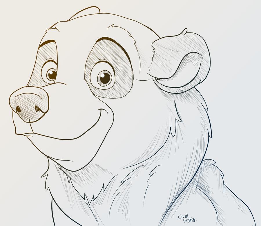 Kenai sketch by GralMaka