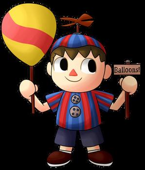 Villager Balloon Boy