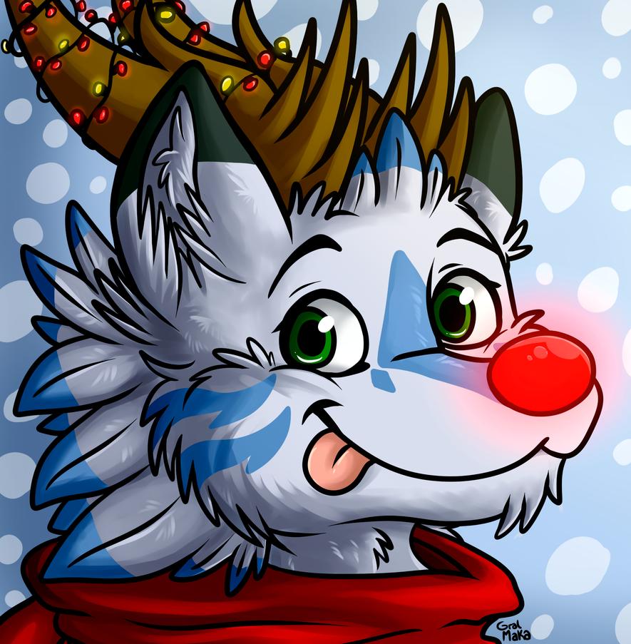 Sanae Christmas by GralMaka
